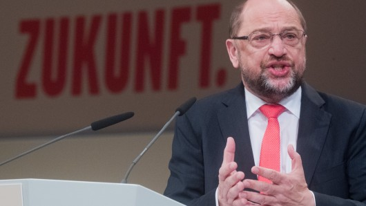 Der SPD-Vorsitzende Martin Schulz in Hannover. Für die Idee, in bestimmten Gegenden muslimische Feiertage einzuführen, zeigt sich die Partei offen.