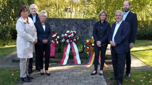Von links: Christiane Jaschinski-Gaus (SPD), Helmut Blöcker (Grüne), Annegret Ihbe (SPD), Anke Kaphammel (CDU), Kurt Schrader (CDU), Ingo Schramm (FDP).