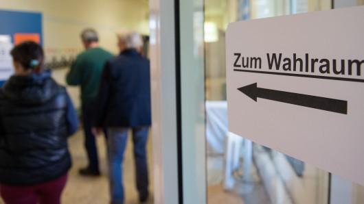 Bis zum Mittag hatten deutlich mehr Niedersachsen ihre Stimme abgegeben als vor viereinhalb Jahren.