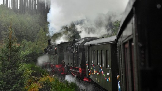 Die Harzer Schmalspurbahnen fahren im November seltener (Archivbild).