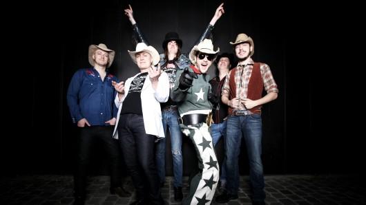White Cowbell Oklahoma kommen am Donnerstag, 9. November, nach Gifhorn.