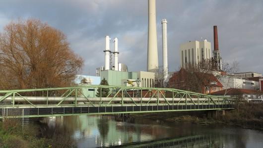 Das Heizkraftwerk Mitte von BS Energy (Archivbild).