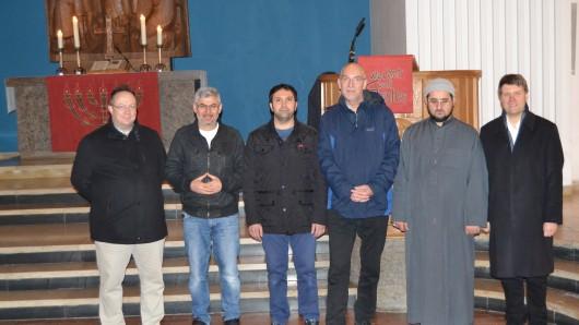 Die Organisatoren des Friedensweges, der am 13. November stattfinden soll.