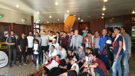 Das Integrations-Fußballturnier in Salzgitter findet dieses Jahr bereits zum zweiten Mal statt.
