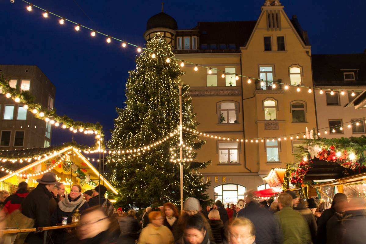 Weihnachtsmarkt Braunschweig.Vegetarisch Oder Vegan Gibt S Alles Auf Dem Weihnachtsmarkt