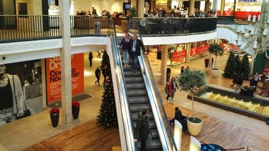 Die Schloss-Arkaden sind Braunschweigs größtes Einkaufscenter.