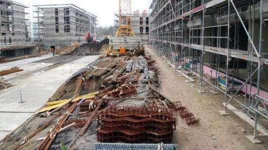 Insgesamt neun Gebäude umfasst das Millionenprojekt am Alsterplatz.