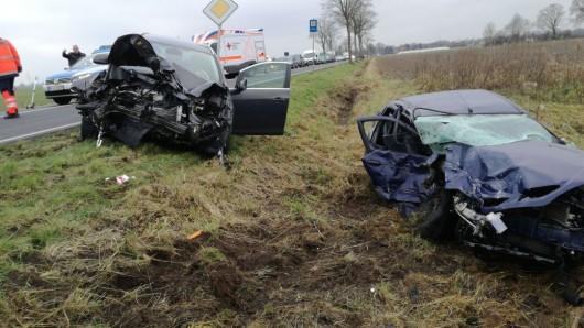 Beim Linksabbiegen hat ein 36-jähriger Braunschweiger einen entgegenkommenden Opel übersehen.