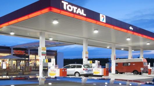 Eine Total-Tankstelle (Symbolbild)