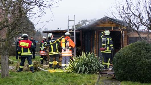 Die Feuerwehr konnte den Brand löschen. Schuld war wohl ein technischer Defekt.