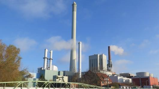 Das Heizkraftwerk Mitte von BS Energy in Braunschweig.