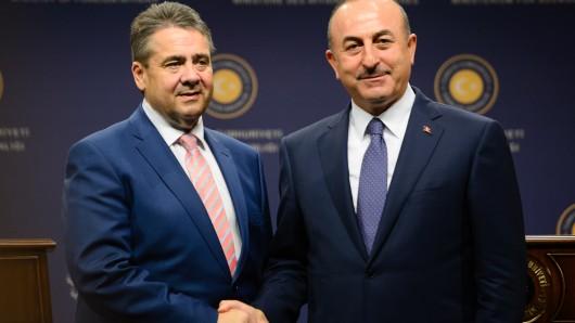 Der türkische Außenminister besucht Gabriel in Goslar (Symbolbild).