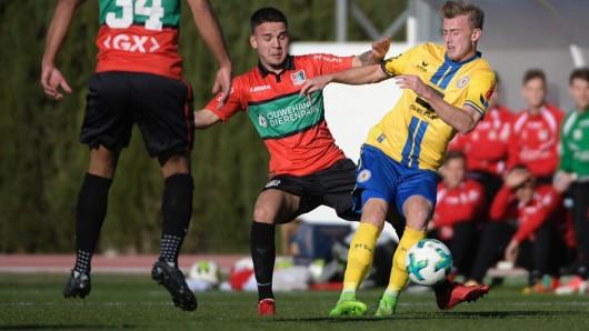 Die Kicker des NEC Nijmegen waren der Eintracht am Samstagnachmittag in fast allen Belangen überlegen.