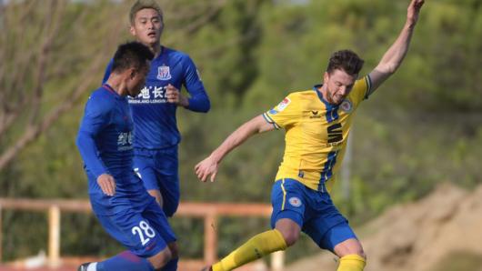 Die Braunschweiger Eintracht testet gegen den chinesischen Erstligisten Shanghai Shenhua.
