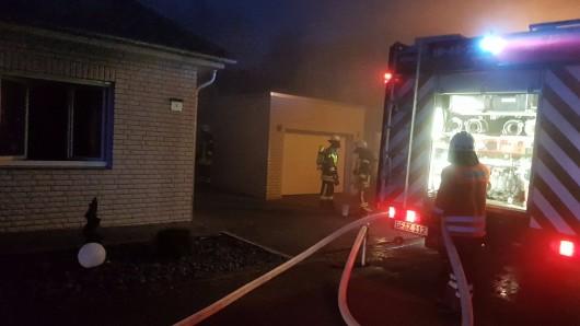 Statt gemütlicher Wärme gab's eine große Verpuffung: Eine Explosion hat in Müden ein Eigenheim verwüstet.