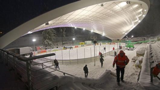Auch das erst im Dezember eröffnete Eisstadion in Schierke ist Schauplatz der Schierker Wintersportwochen 2018.