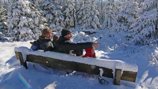In den kommenden Tagen wird es trocken und kalt. Das perfekte Wetter, um einen Winterspaziergang im Harz zu unternehmen. (Archivbild)