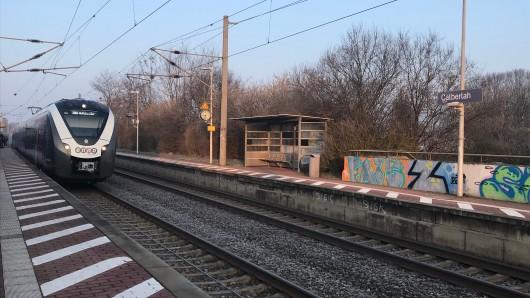 Die Täter hatten ihr Opfer auf dem Bahnsteig zusammen geschlagen.