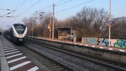 Am Bahnhof Calberlah schlugen die Männer ihr Opfer krankenhausreif. (Archivbild)
