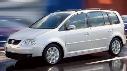 Der Dieb hat einen VW Touran mitgehen lassen (Symbolbild).