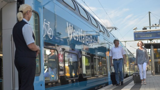 Sonne satt, warme Temperaturen: In Zügen ab Braunschweig gibt's jetzt Eis. (Archivbild)