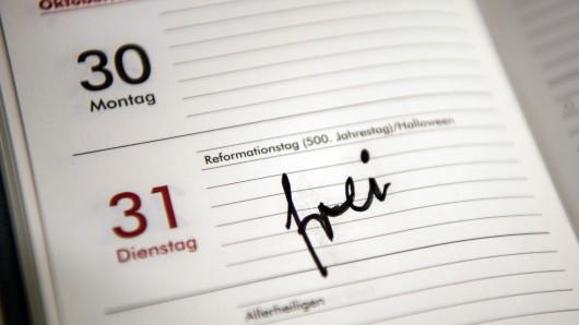 Die Regierung hat ein Gesetz verabschiedet, das den Reformationstag als Feiertag festlegt (Symbolbild).