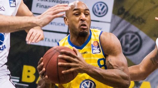 DeAndre Landsdowne steuerte am Sonntagabend 19 Zähler zum Sieg der Basketball Löwen über den Mitteldeutschen BC bei.