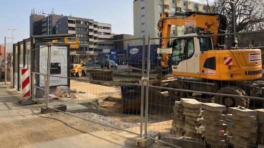 Die Baustelle am Rebenring läuft planmäßig (Archivbild)