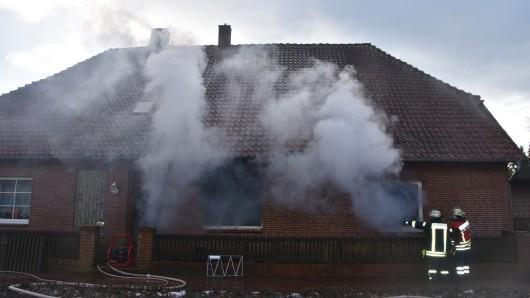 Das Feuer war im Erdgeschoss ausgebrochen.