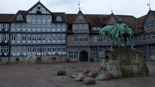 Bei der Führung werden alte Tat- und Hinrichtungsorte in Wolfenbüttel besucht - unter anderem der Rauthausplatz.