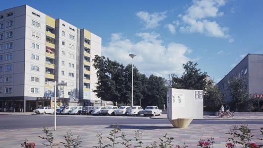 Der Rabenbergplatz im Jahr 1966.