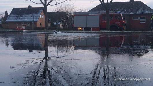 Viel Wasser in kurzer Zeit? Kein Problem für die Feuerwehr!