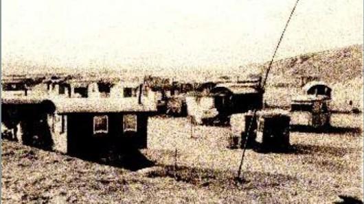 So sah das Sammellager Veltenhof in den 1940er Jahren aus. Von hier aus wurden mindestens 124 Menschen nach Auschwitz-Birkenau deportiert.