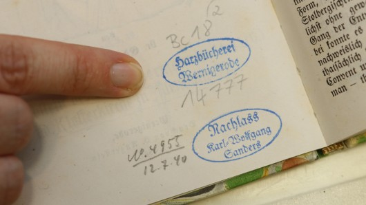 Harzbücherei Wernigerode - stammt dieses Buch aus den Raubzügen der NS-Zeit?