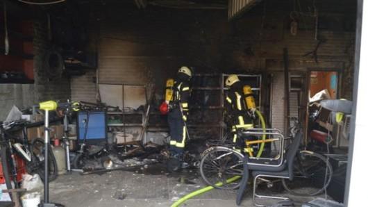 Die Ursache für den Brand ist unklar.