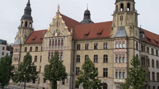 Das Landgericht Halle. (Archivbild)