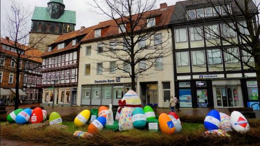 29 Eier sind dieses Mal im Osternest.