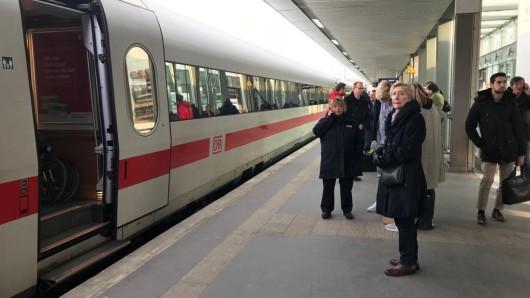 Am Hauptbahnhof in Hannover konnte die Bundespolizei den Fahrgast schließlich überwältigen (Archivbild).