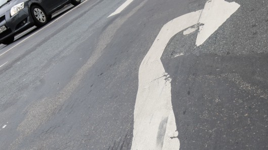 Der Mann konnte nicht mehr geradeaus fahren. (Symbolbild)