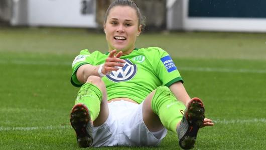 Ewa Pajor hat am Mittwochabend den Ausgleich für die VfL-Frauen beim Viertelfinal-Rückspiel bei Slavia Prag erzielt (Archivbild).