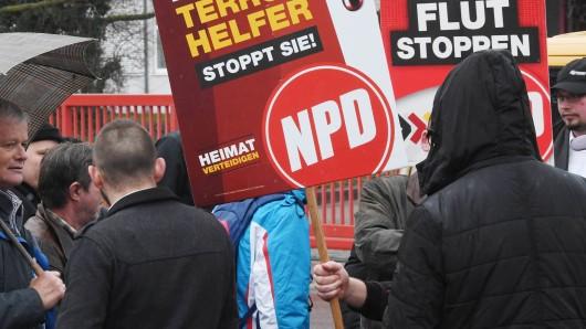 Die NPD darf nicht durch Braunschweig ziehen - die Stadt erlaubt lediglich eine Kundgebung (Symbolfoto).