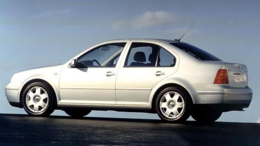 Solch ein älteres Modell wie der VW Bora kann ja schon mal abgemeldet sein. Dumm nur, wenn damit trotzdem eine Probefahrt unternommen wird (Archivbild).
