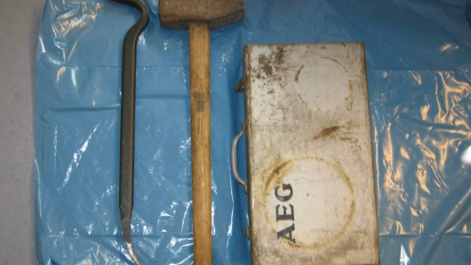 Die Polizei fragt: Wem gehören diese Werkzeuge?