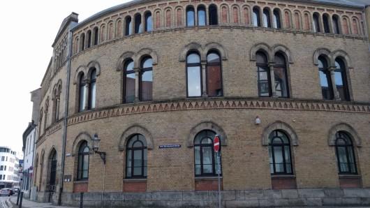 Unscheinbar ist das Gebäude der jüdischen Gemeinde Braunschweig in der Steinstraße.