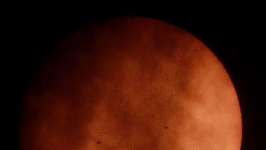 Die Venus erleuchtet momentan unsere Nächte. (Symbolbild)