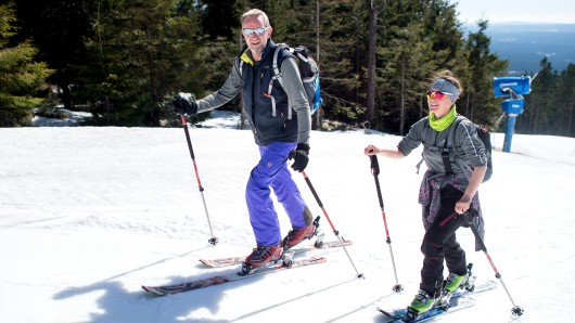Wintersportler im Harz müssen sich noch etwas gedulden. (Archivbild)