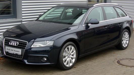 Aus Cremlingen wurden in nur einer Nacht zwei schwarze Audi A4 Avant gestohlen (Symbolbild).