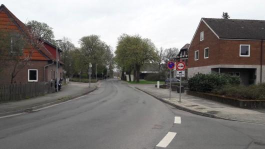 Die Stellfelder Straße wird zur Baustelle.