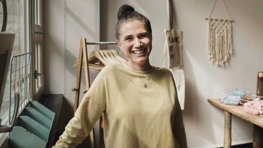 Louisa Dellert fiebert der Eröffnung von Naturalou entgegen. Bis dahin ist aber noch viel zu tun.