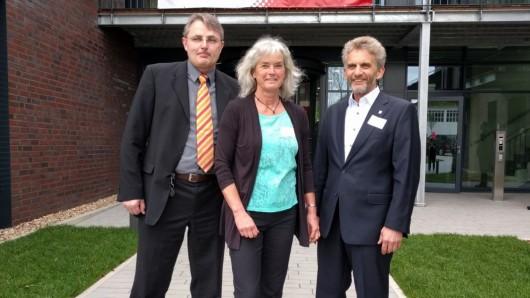 Die Initatoren Harald Lies, Tamara Ostermann und Sven-Ove Wähling haben den IT-Campus kreiert.